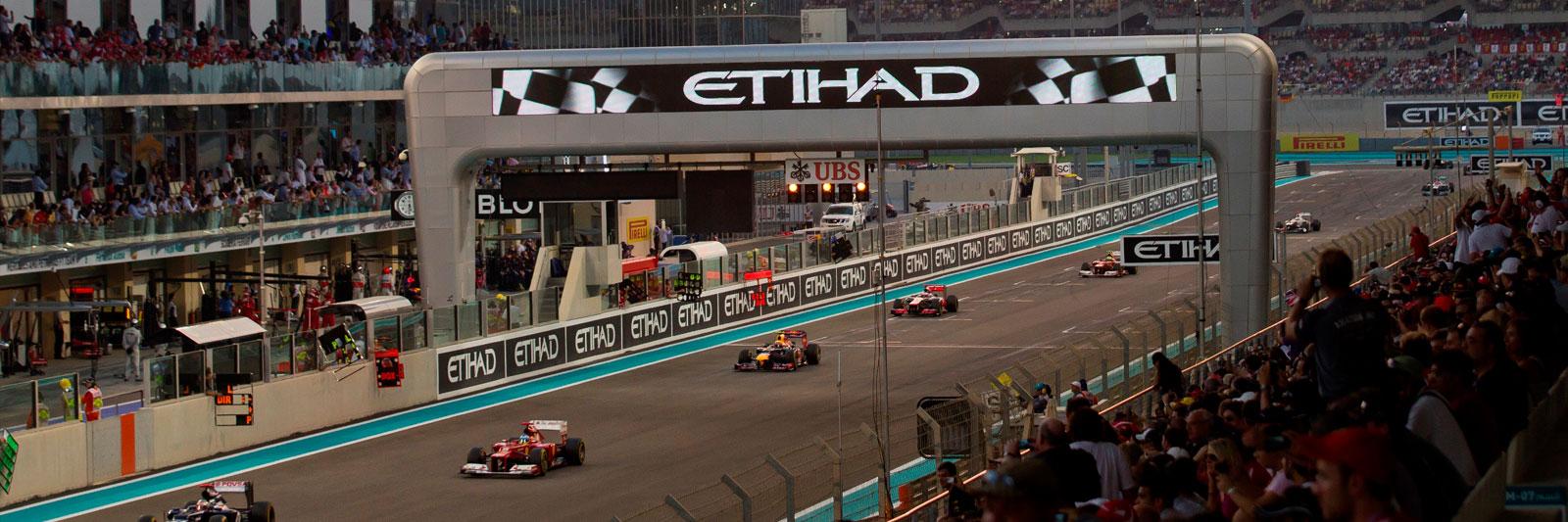 Abu Dhabi Grand Prix with Grand Prix Tours.