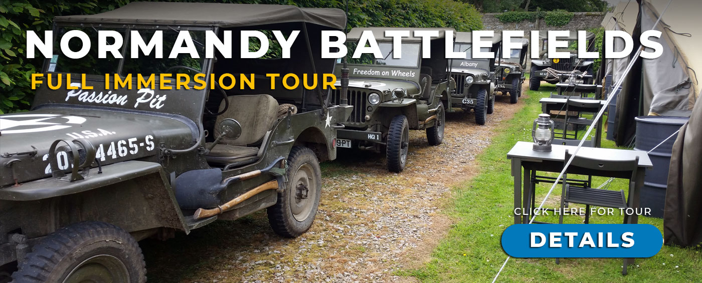 D-Day Normandy Battle Field Tour with Grand Prix Tours.