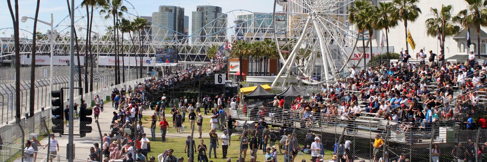 Long Beach Grand Prix with Grand Prix Tours