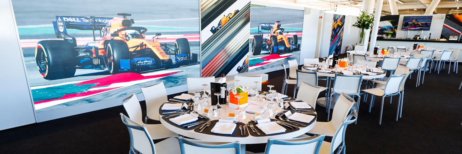 McLaren Paddock Club Tickets from Grand Prix Tours