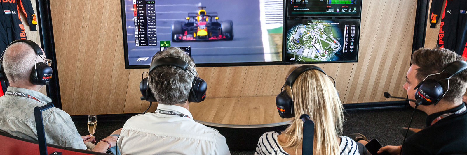 Red Bull team suite Tickets from Grand Prix Tours