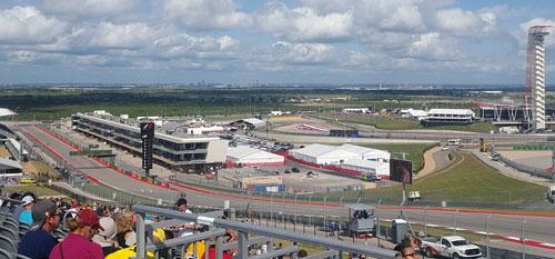 United States Grand Prix with Grand Prix Tours