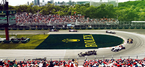 Canadian Grand Prix with Grand Prix Tours