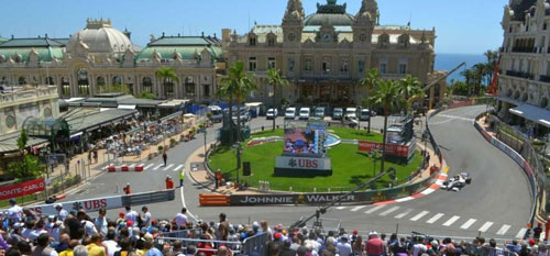 Monaco Grand Prix with Grand Prix Tours