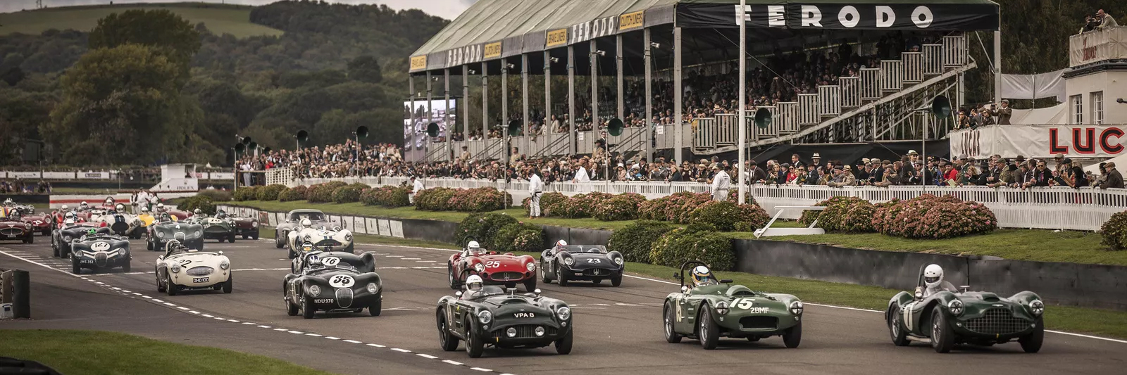 Goodwood Revival with Grand Prix Tours.