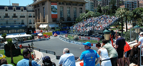 Monaco Grand Prix with Grand Prix Tours.