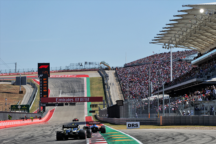 The United States Grand Prix with Grand Prix Tours.