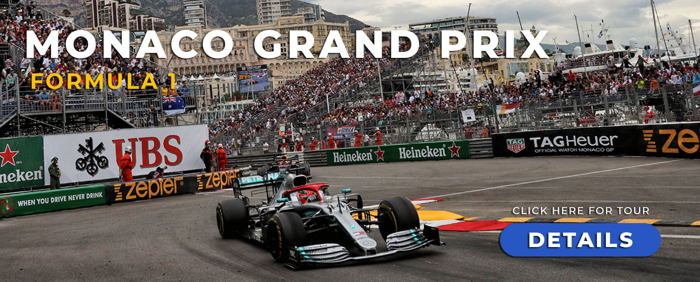 The Monaco Grand Prix with Grand Prix Tours.