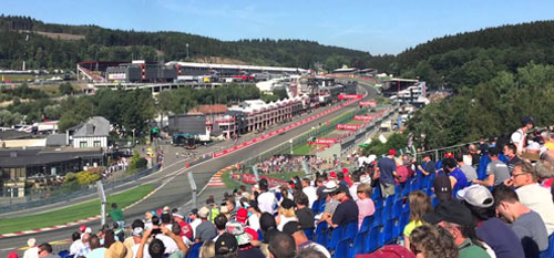 The Belgian Grand Prix with Grand Prix Tours.