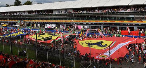 Italian Grand Prix with Grand Prix Tours.