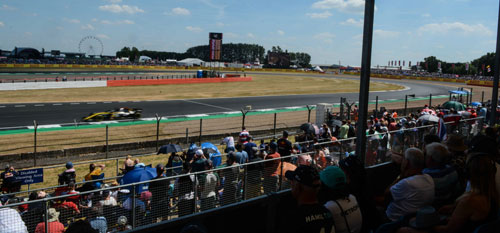 The British Grand Prix with Grand Prix Tours.