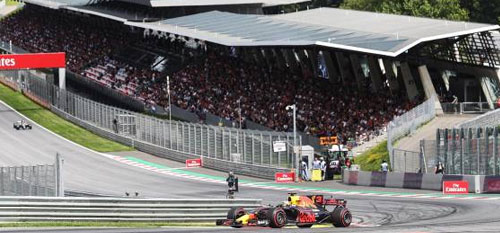 The Austrian Grand Prix with Grand Prix Tours.