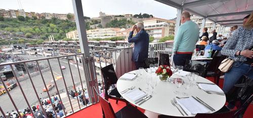 Belvedere Terrace Monaco Grand Prix.