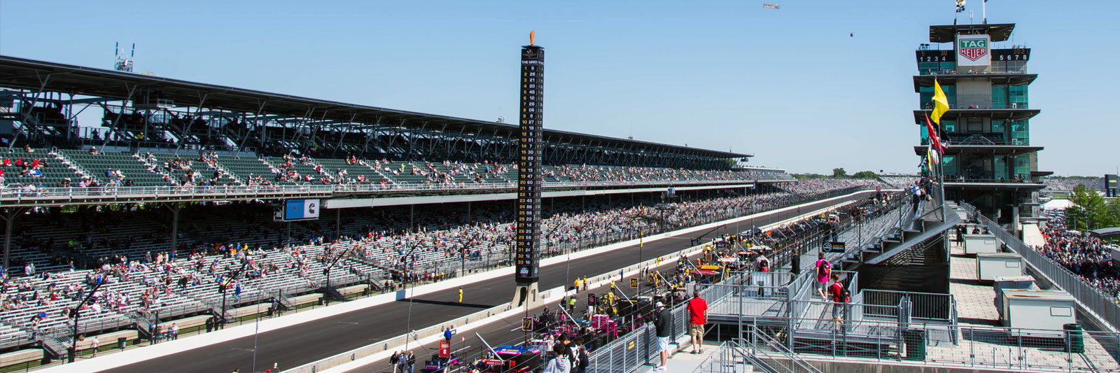 Indianapolis 500 with Grand Prix Tours.