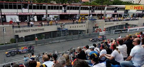 Monaco Grand Prix with Grand Prix Tours.